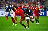 Marouane FELLAINI / Bacary SAGNA - 07.06.2015 - France / Belgique - Match Amical<br /> Photo : Dave Winter / Icon Sport