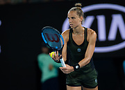 Arantxa Rus of the Netherlands in action during her second round match at the 2020 Australian Open, WTA Grand Slam tennis tournament on January 22, 2020 at Melbourne Park in Melbourne, Australia - Photo Rob Prange / Spain ProSportsImages / DPPI / ProSportsImages / DPPI