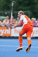 UTRECHT - Billy Bakker  van Oranje ,zaterdag tijdens de  hockey interland tussen de mannen van Nederland en Duitsland (4-2). COPYRIGHT KOEN SUYK