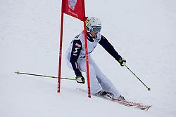 23.01.2012, Planai, Schladming, AUT, FIS Alpin Ski Weltcup, Slalom Herren, Sporthilfe Ski for Gold Promirennen, im Bild Snowboarderin Marion Krainer // snowboarder Marion Krainer (AUT) at the Sporthilfe Ski for Gold VIP Race during the FIS World Cup Alpine Skiing at the 'Planai', Schladming, Austria on 2012/01/23, EXPA Pictures © 2012, PhotoCredit: EXPA/ Erwin Scheriau