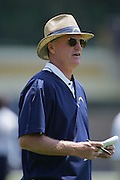 SAN DIEGO - JUNE 10:  Head Coach Marty Schottenheimer of the San Diego Chargers watches player workouts during minicamp at the San Diego Chargers Park practice field on June 10, 2006 in San Diego, CA. ©Paul Anthony Spinelli *** Local Caption *** Marty Schottenheimer