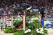 Ludo Philippaerts - Denver van 't Goemanshof<br /> Rolex FEI World Cup Final 2013<br /> © DigiShots