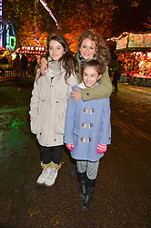 NADIA SAWALHA and her daughter MADDIE and KIKI-BEat the Hyde Park Winter Wonderland - VIP Preview Night, Hyde Park, London on 17th November 2016.NADIA SAWALHA and her daughter MADDIE and KIKI-BEE at the Hyde Park Winter Wonderland - VIP Preview Night, Hyde Park, London on 17th November 2016.