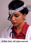 Medical Lab Technicians Female Physicians Perform Gynecological Exam