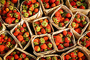 Strawberries in Mandalay market