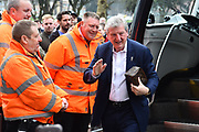 Crystal Palace manager Roy Hodgson arriving at the Vitality Stadium before the Premier League match between Bournemouth and Crystal Palace at the Vitality Stadium, Bournemouth, England on 7 April 2018. Picture by Graham Hunt.