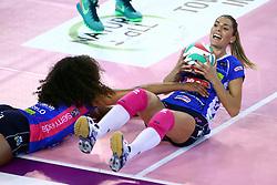 22-10-2016 ITA: Metalliche Montichiari - Igor Gorgonzola Novara, Montichiari<br /> Novara wint met 3-0 / Celeste Plak #4, Francisca Piccinini #12<br /> <br /> ***NETHERLANDS ONLY***