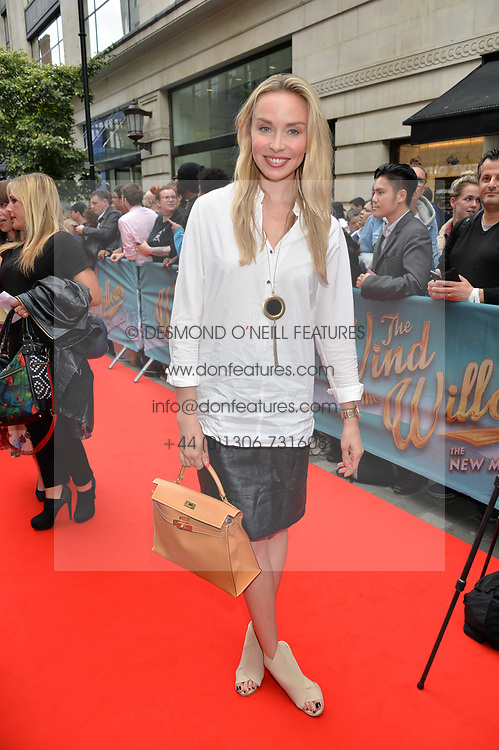 Noelle Reno arriving at The opening night of Wind in The Willows at the London Palladium, Argyll Street, London England. 29 June 2017.<br /> Photo by Dominic O'Neill/SilverHub 0203 174 1069 sales@silverhubmedia.com