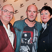 NLD/Amsterdam/20101228 - Inloop The voice of Holland 2010 concert, ouders Ben Saunders en zoon Dean
