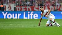FUSSBALL   1. BUNDESLIGA  SAISON 2012/2013   3. Spieltag FC Bayern Muenchen - VfB Stuttgart      02.09.2012 Vedad Ibisevic (VfB Stuttgart)