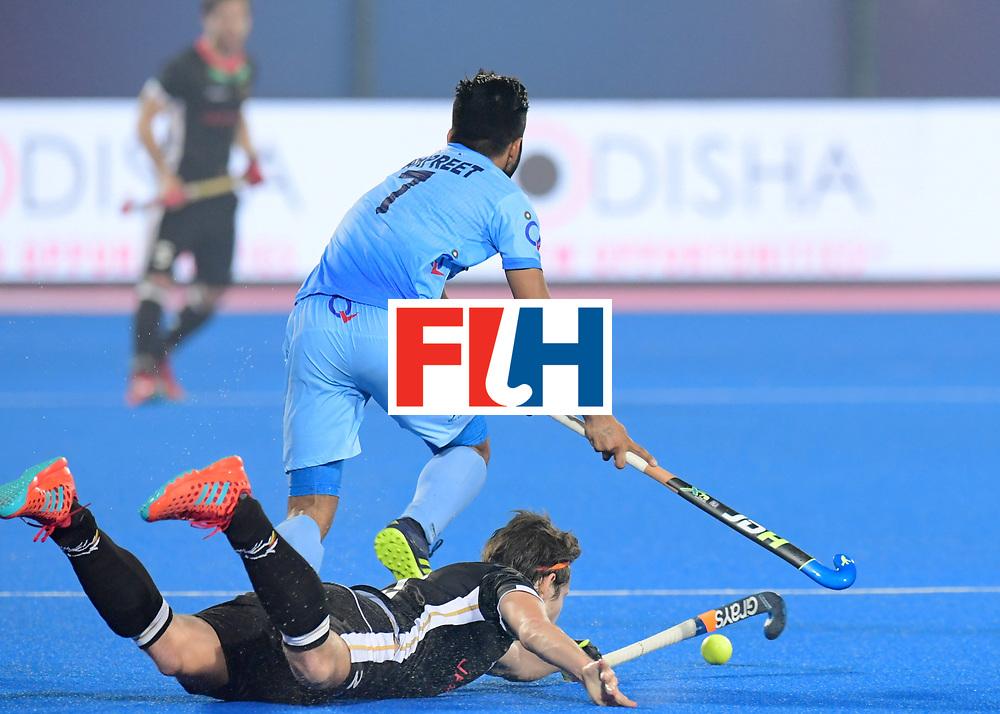 Odisha Men's Hockey World League Final Bhubaneswar 2017<br /> Match id:10<br /> India v Germany<br /> Foto: Manpreet Singh (Ind) <br /> WORLDSPORTPICS COPYRIGHT FRANK UIJLENBROEK