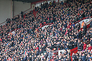 The fans applause Martin and Alan before the Sky Bet League 1 match between Sheffield Utd and Coventry City at Bramall Lane, Sheffield, England on 13 December 2015. Photo by Mark P Doherty.