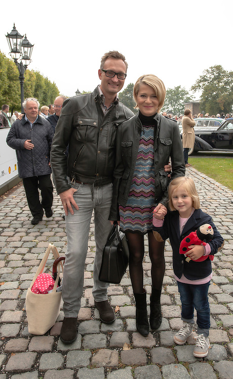 Stefan Lamm with his family