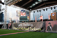 10th July 2009 - Gary, IN..Performers, Unity of Purpose..More than 6,000 people attended Michael Jackson's memorial service in his hometown took place at the Steel yard, Gary's minor league baseball park...Photo Credit: Heather A. Lindquist/SIPA...