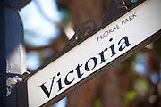 Victoria Street in Floral Park Santa Ana California
