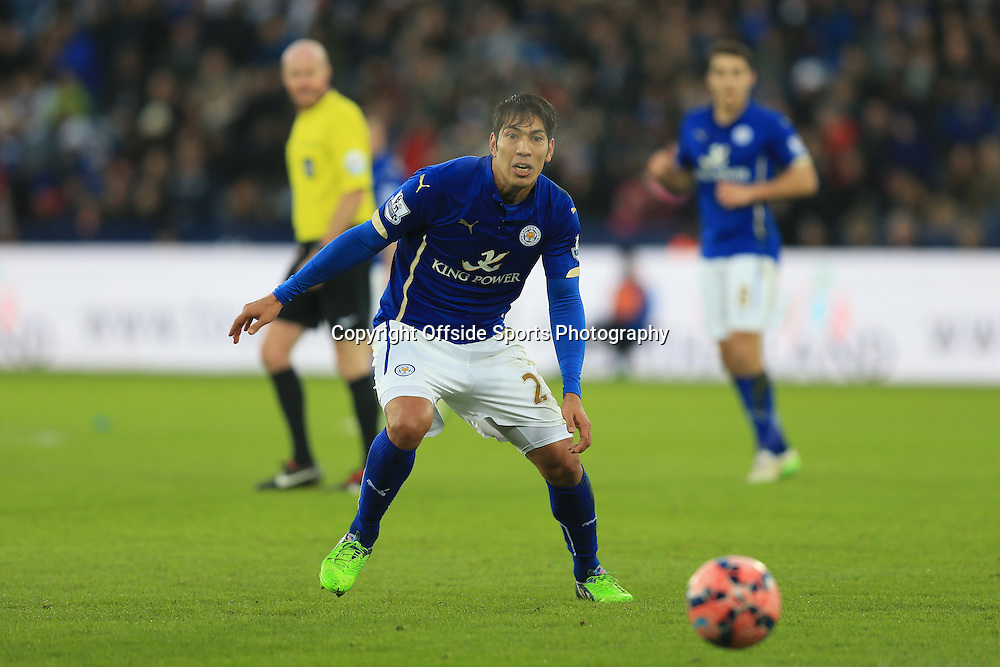 3 January 2015 - The FA Cup 3rd Round - Leicester City v Newcastle United - Leonardo Ulloa of Leicester City - Photo: Marc Atkins / Offside.