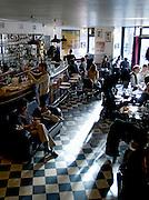 D&eacute;jeuner au restaurant de l' &quot;Hotel du Nord&quot;, Paris, Paris-Ile-de-France, France<br /> Lunch time at the &quot;Hotel du Nord&quot; Restaurant, town of Paris, Paris-Ile-de-France region, France.