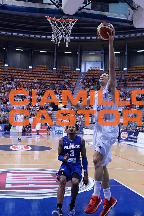Bologna 26 Giugno 2016<br /> BASKET Basketball tournament city<br /> Italia Filippine<br /> NELLA FOTO Andrea Cinciarini<br /> FOTO CIAMILLO