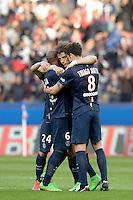 David LUIZ  - 07.03.2015 -   PSG / Lens -  28eme journee de Ligue 1 <br />Photo : Andre Ferreira / Icon Sport