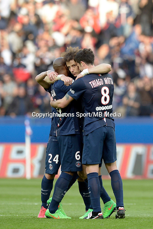 David LUIZ  - 07.03.2015 -   PSG / Lens -  28eme journee de Ligue 1 <br />