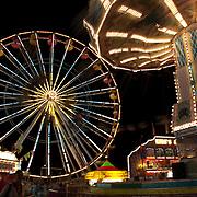 New York state fair at night