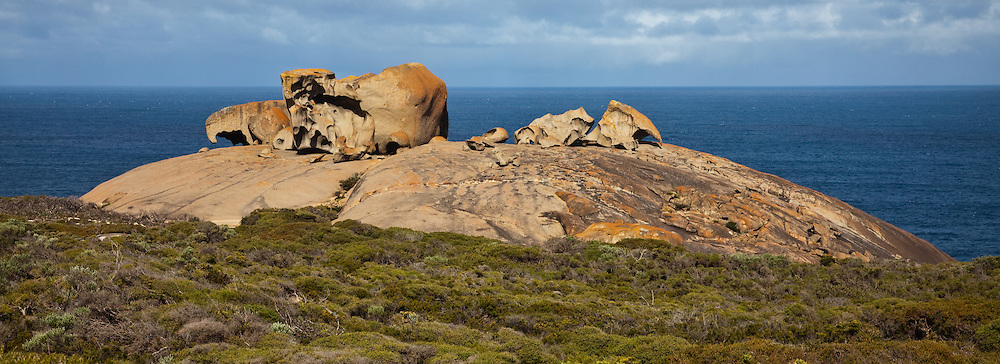Remarkable Rocks Panoramic (12x33in), Kangaroo Island, Australia