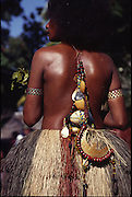 Papua New Guinea, Fergusson Island, Kula necklace<br />