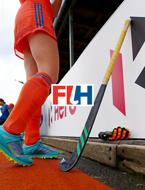 New Zealand, Auckland - 20/11/17  <br /> Sentinel Homes Women&rsquo;s Hockey World League Final<br /> Harbour Hockey Stadium<br /> Copyrigth: Worldsportpics, Rodrigo Jaramillo<br /> Match ID: 10299 - NED vs KOR<br /> Photo: (13) van MAASAKKER Caia
