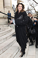 PARIS, FRANCE - JANUARY 24:  Mademoiselle Agnes arrives at the Chanel Haute-Couture Spring / Summer 2012 Show as part of Paris Fashion Week at Grand Palais on January 24, 2012 in Paris, France.  (Photo by Tony Barson/Getty Images)