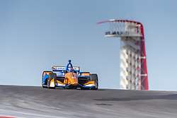 February 12, 2019 - Austin, Texas, U.S. - SCOTT DIXON (9) of New Zealand goes through the turns during practice for the IndyCar Spring Test at Circuit Of The Americas in Austin, Texas. (Credit Image: © Walter G Arce Sr Asp Inc/ASP)