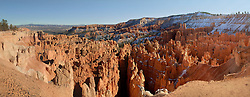 Panorama of Bryce Canyon