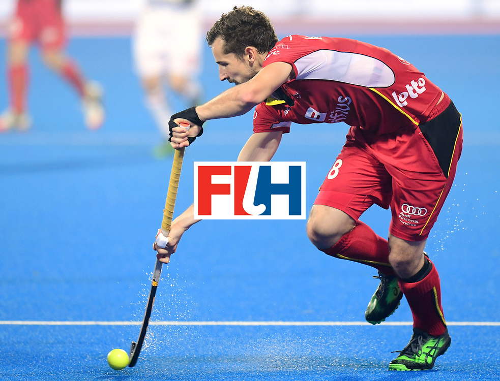 Odisha Men's Hockey World League Final Bhubaneswar 2017<br /> Match id:07<br /> Belgium v Spain<br /> Foto: Florent van Aubel (Bel) <br /> WORLDSPORTPICS COPYRIGHT FRANK UIJLENBROEK