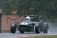 #4 Jonathan Mitchell Caterham CSR 2300 during the CSCC Gold Arts Magnificent Sevens at Oulton Park, Little Budworth, Cheshire, United Kingdom. October 15 2016. World Copyright Peter Taylor/PSP. <br /> Copy of publication required for printed pictures.  Every used picture is fee-liable. http://archive.petertaylor-photographic.co.uk