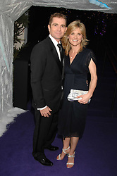 GRANT BOVEY and ANTHEA TURNER at La Dolce Vita Christmas Ball in aid of DeBRa held at Battersea's Evolution, Battersea Park, London on 12th December 2007.<br />