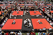 Arkansas Democrat-Gazette/BENJAMIN KRAIN --6/25/2011--<br /> Competitors from around the world compete in the American Taekwondo Association World Championships being held this weekend at the Statehouse Convention Center in Little Rock. The event is Little Rock's largest annual convention bringing in over 20,000 visitors to central Arkansas.