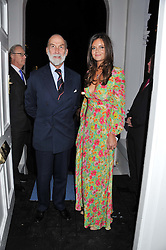 HRH PRINCE MICHAEL OF KENT and LADY NATASHA RUFUS ISAACS at a reception hosted by Beulah London and the United Nations to launch Beulah London's AW'11 Collection 'Clothed in Love' and the Beulah Blue Heart Campaign held at Dorsia, 3 Cromwell Road, London SW7 on 18th October 2011.