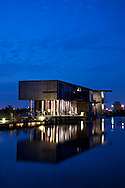 The famous Lin and Yu's House in Yilan, Taiwan is a five star hotel and has won many architecture awards.