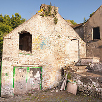Building in Ennistymon which the newly painted mural will be displayed as part of the tidy towns
