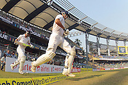 Cricket - India v England 2nd Test Day 3 Mumbai