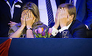 KING WILLEM ALEXANDER AND QUEEN MAXIMA AND PRINCESS  , ARIANE AND ALEXIA VISIT JUMPING AMSTERDA
