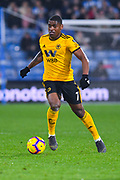 Ivan Cavaleiro of Wolverhampton Wanderers (7) in action during the Premier League match between Huddersfield Town and Wolverhampton Wanderers at the John Smiths Stadium, Huddersfield, England on 26 February 2019.