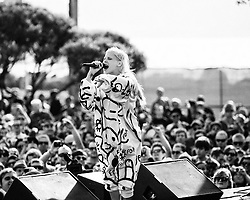 Die Antwoord perform at the Treasure Island Music Festival 2010