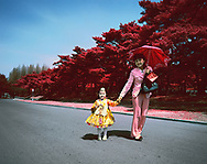 In juche, the ideology conceived by Kim Il-Sung, North Korea&rsquo;s first leader, motherhood is defined as a selfless role for the benefit of the nation. A mother's role is to help uphold the purity and autonomy of the country. <br /> <br /> In North Korea, the International Women&rsquo;s Day is a public holiday with various events held across the country. Women are encouraged to fight for a sparkling future and to follow Party orders. Several years ago, the daily newspaper urged women to give &quot;unconditional trust and support to the Party; if we are with the Great Leader, happiness, sorrow, or tragedy are an honor&quot;.