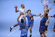 DESCRIZIONE : France Hand D1 Championnat de France D1 a Toulouse<br /> GIOCATORE : Said OUKSIR<br /> SQUADRA : Paris<br /> EVENTO : FRANCE Hand D1<br /> GARA : Toulouse Paris<br /> DATA : 19/10/2011<br /> CATEGORIA : Hand D1 <br /> SPORT : Handball<br /> AUTORE : JF Molliere <br /> Galleria : France Hand 2011-2012 Action<br /> Fotonotizia : France Hand D1 Championnat de France D1 a Paris <br /> Predefinita :