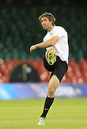 Marcelo Bosch of Saracens pictured during training ahead of the Heineken Cup Final at the Millennium Stadium, Cardiff<br /> Picture by Michael Whitefoot/Focus Images Ltd 07969 898192<br /> 24/05/2014