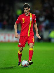 Wales Ben Davies (Swansea City) - Photo mandatory by-line: Joe Meredith/JMP  - Tel: Mobile:07966 386802 12/10/2012 - Wales v Scotland - SPORT - FOOTBALL - World Cup Qualifier -  Cardiff   - Cardiff City Stadium -