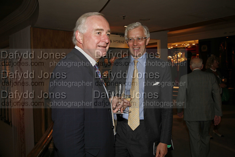 Sir Timothy Clifford, Brian Ivory, The opening  day of the Grosvenor House Art and Antiques Fair.  Grosvenor House. Park Lane. London. 14 June 2006. ONE TIME USE ONLY - DO NOT ARCHIVE  © Copyright Photograph by Dafydd Jones 66 Stockwell Park Rd. London SW9 0DA Tel 020 7733 0108 www.dafjones.com