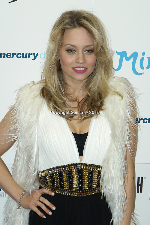 London,England,UK : 28th April 2016 : Kimberly Wyatt attend the Kimberly Wyatt launches the 2016 annual BLOCH Dance World Cup at BLOCH, 35 Drury Lane, Covent Garden, London. Photo by See Li
