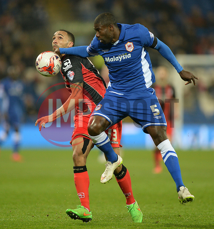 - Photo mandatory by-line: Alex James/JMP - Mobile: 07966 386802 - 17/03/2015 - SPORT - Football - Cardiff - Cardiff City Stadium - Cardiff City v AFC Bournemouth - Sky Bet Championship