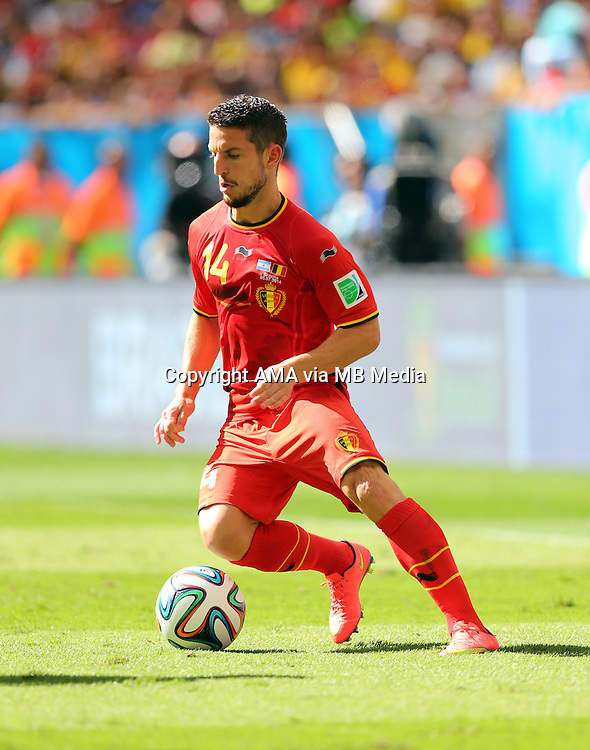 Dries Mertens of Belgium